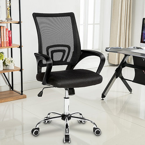 Office Chair PVC Household Armchair Lift and Swivel Function Ergonomic