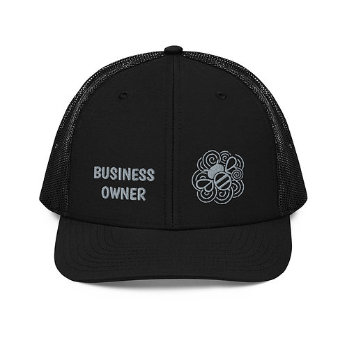 Busy Bee (Black, Black/White or Cardinal) Cap