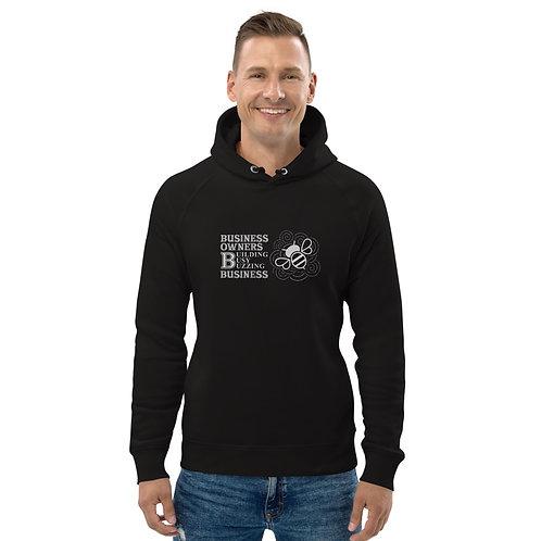 Busy Bee - Unisex pullover hoodie (Black)