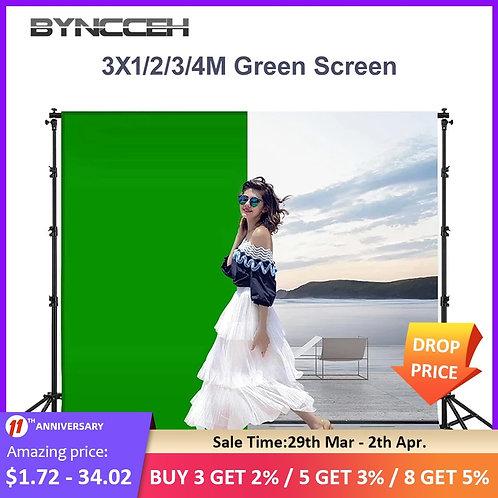 6 Colors Photography Backdrops Polyester Cotton Photo Backdrop Green Screen