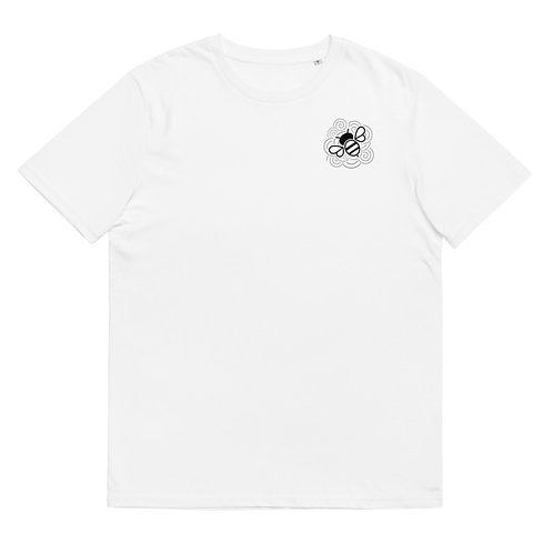 Busy Bee - Unisex organic cotton t-shirt (Red or White)