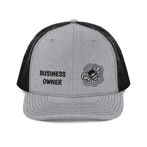 Busy Bee (Grey/Black) Cap