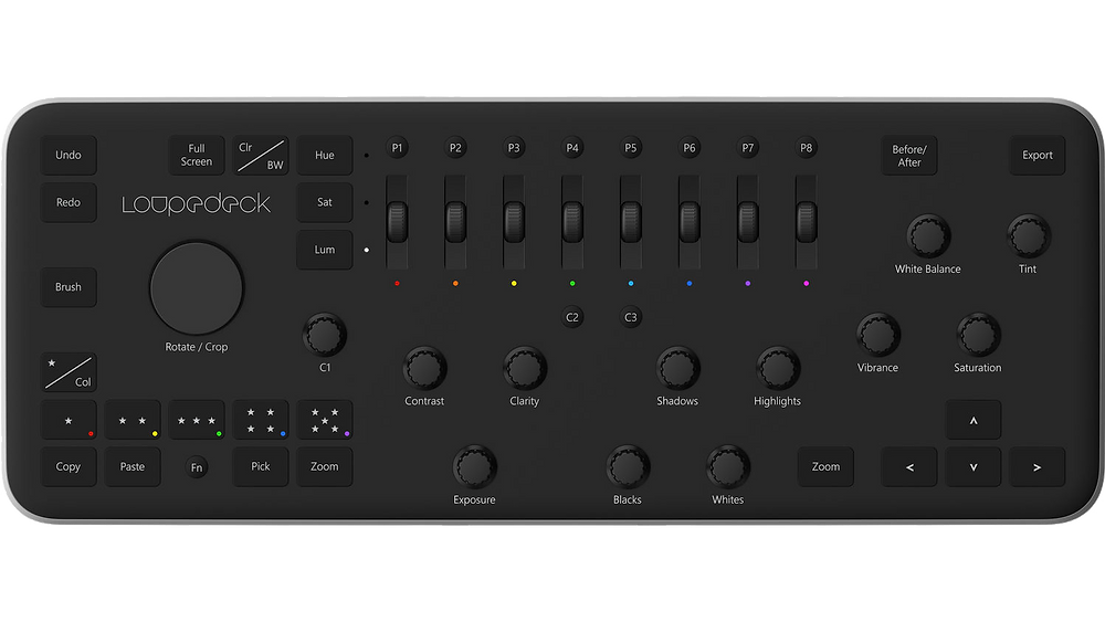 Loopdeck brand name Lightroom controller
