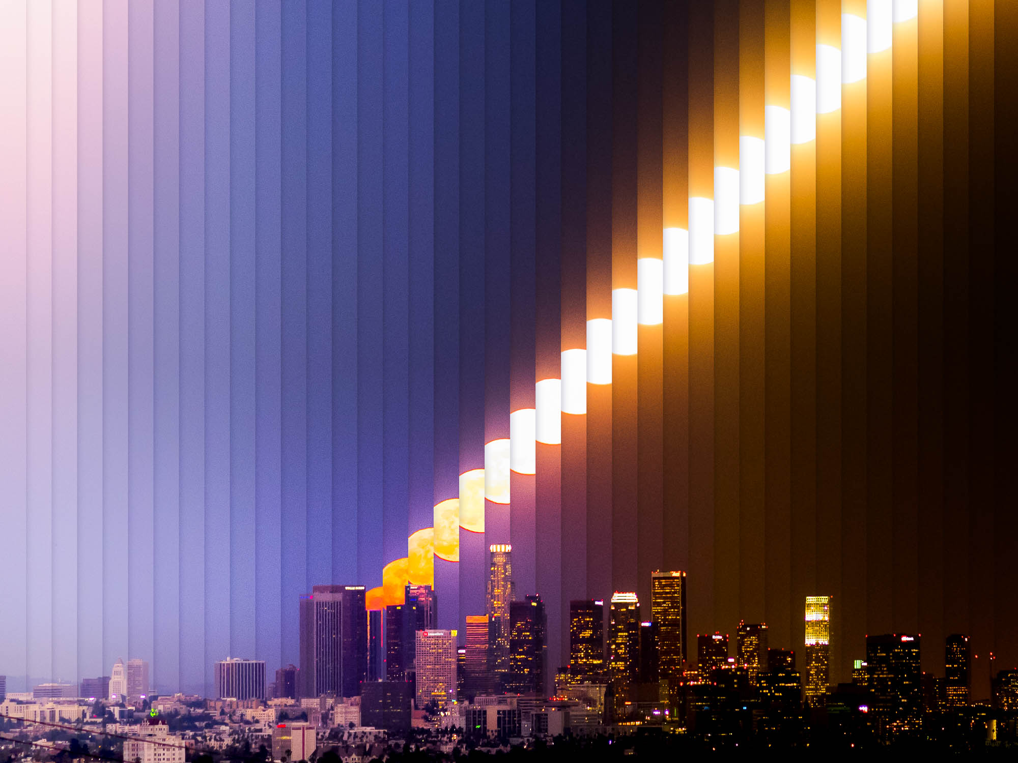 Timeslice Los Angeles in 39 photos