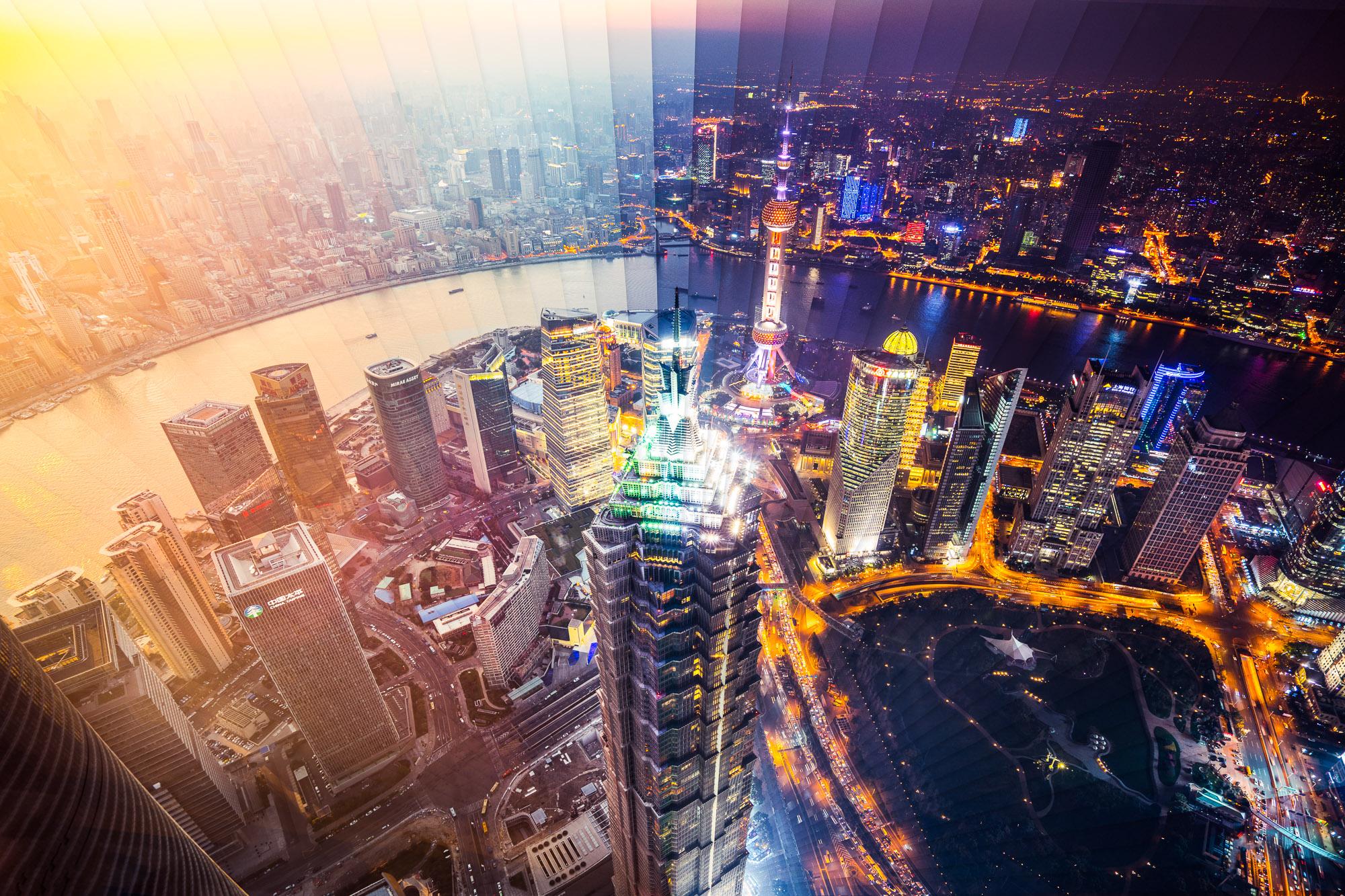 Timeslice Shanghai in 65 Photos