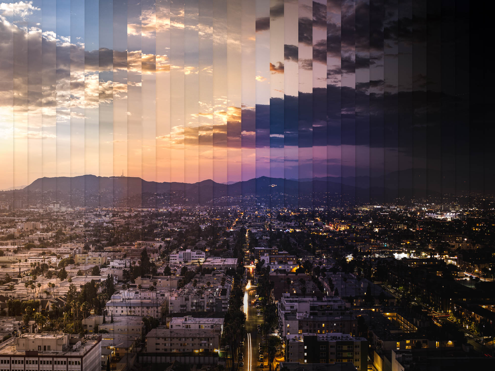 Timeslice LA in 35 photos