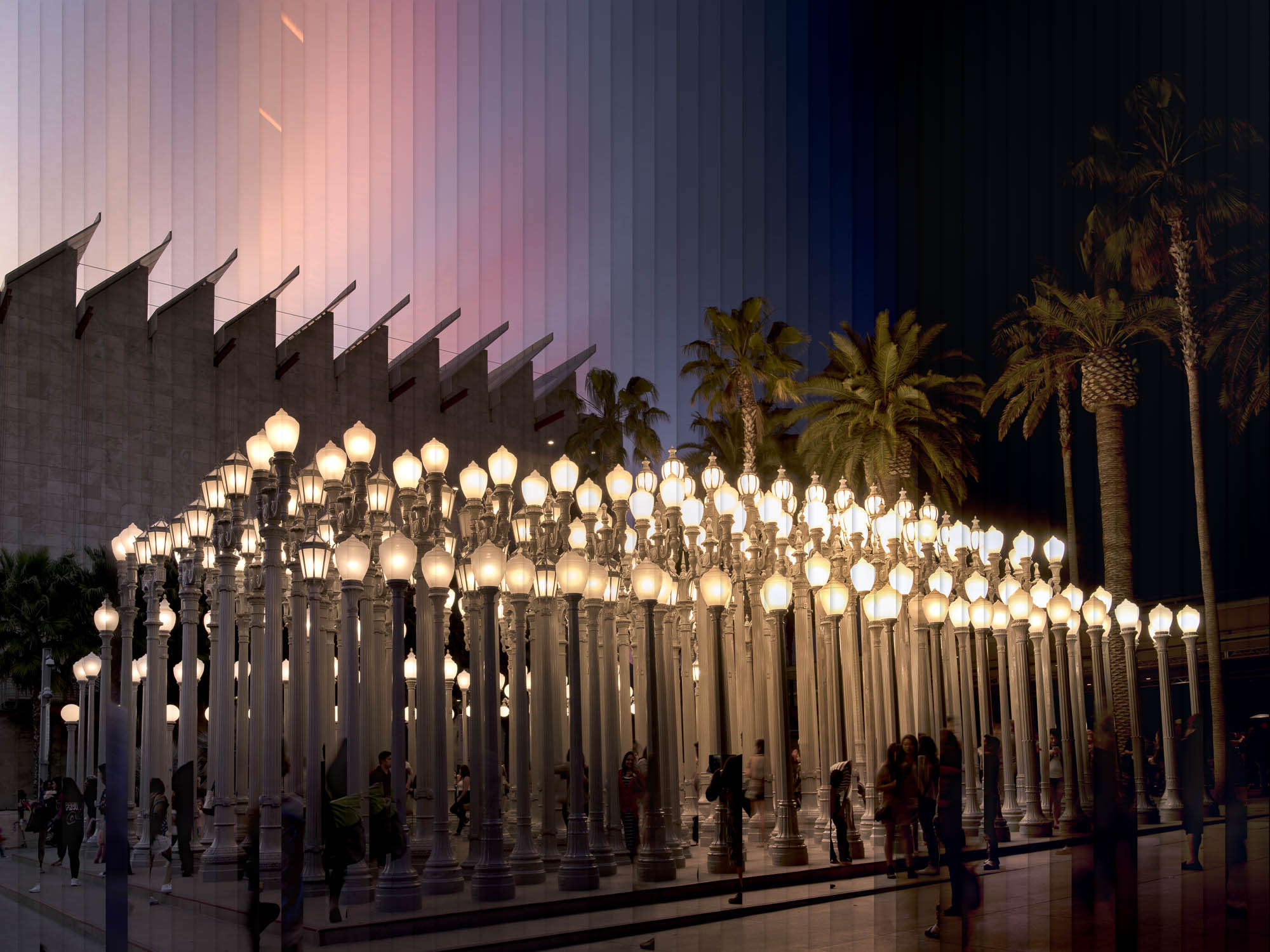 Timeslice LACMA in 58 Photos