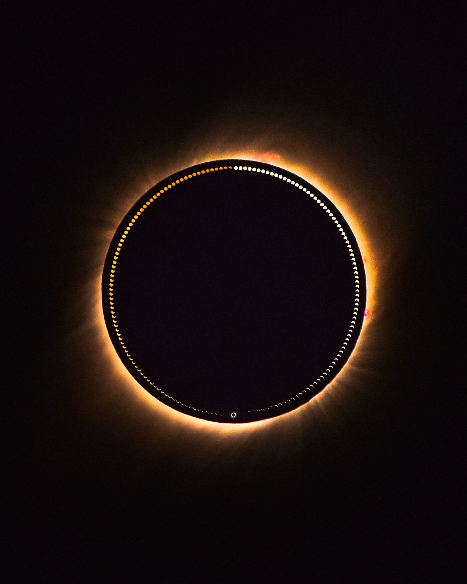 Total Solar Eclipse in 170 Photos