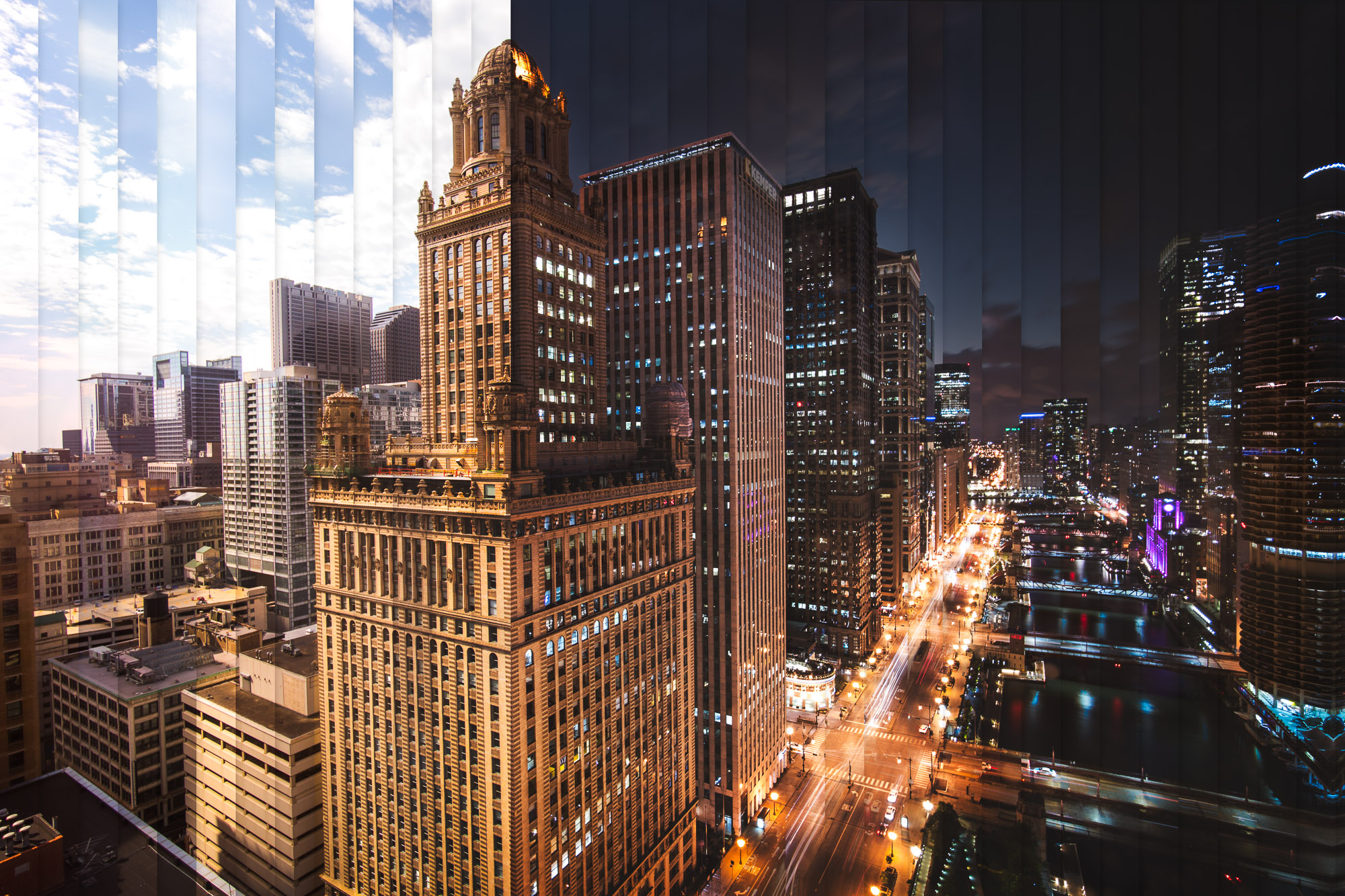 Timeslice Chicago in 52 photos