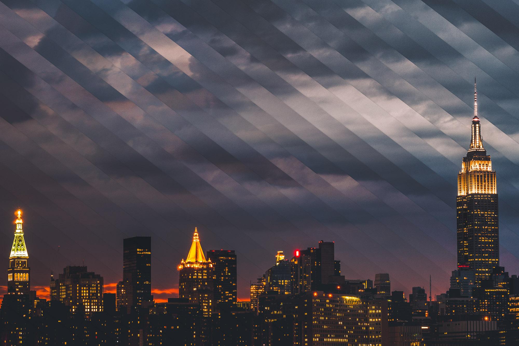 Timeslice Manhattan in 34 photos