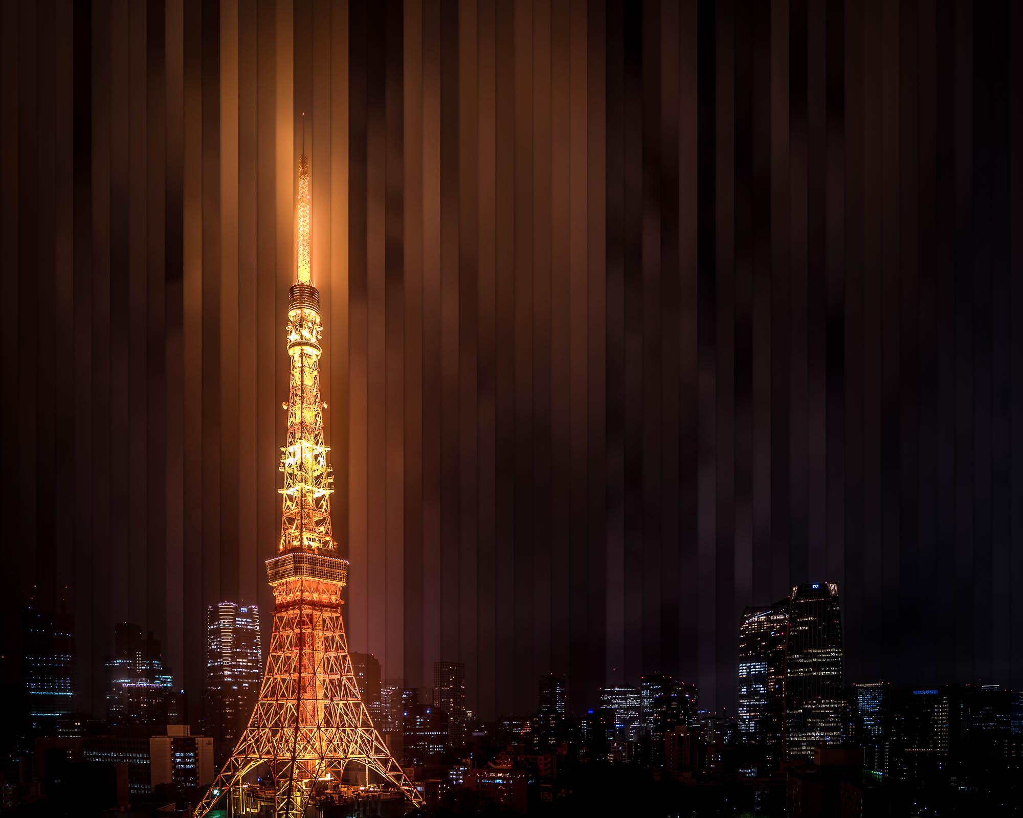 Timeslice Tokyo Tower 56 Photos