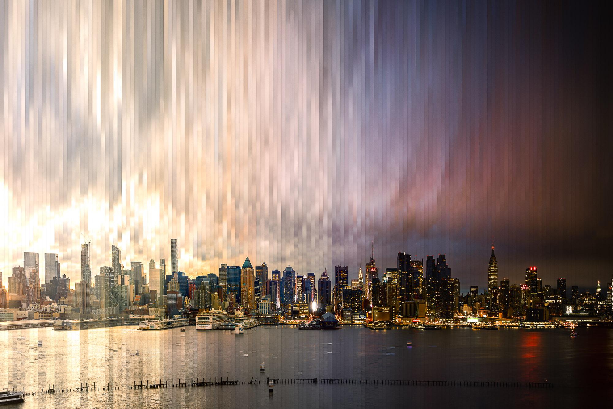 Timeslice Manhattan in 147 photos