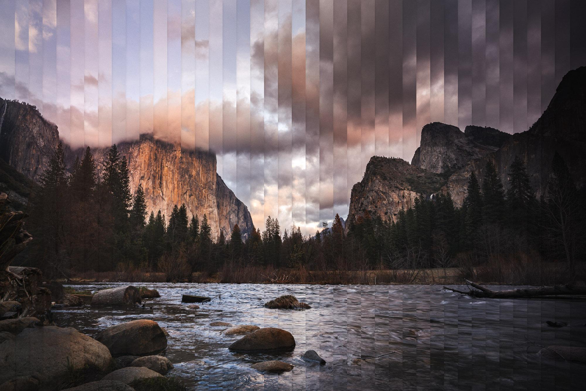 Timeslice Yosemite in 35 photos
