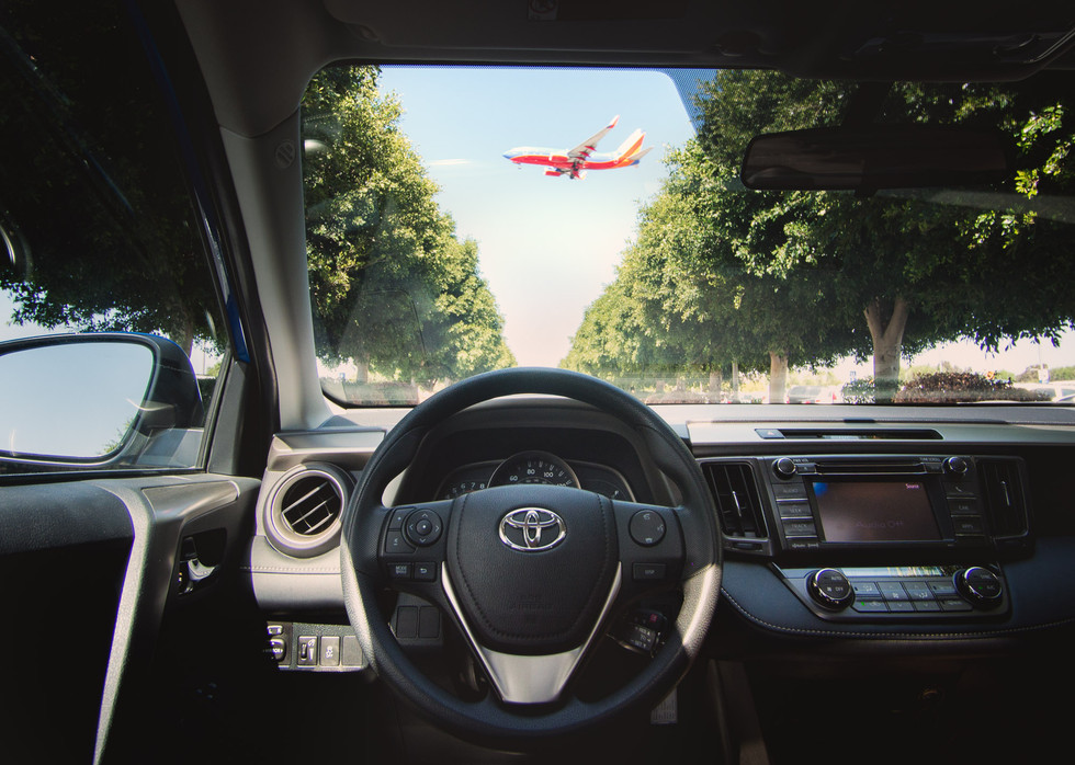Toyota Prius in LA