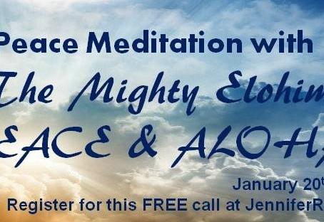 Peace Meditation – Elohim PEACE & ALOHA