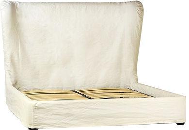 Dovetail Furniture DOV3154EK Barnes Bed