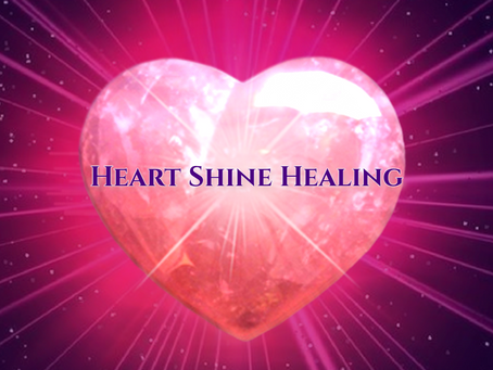 Welcome to HeartShine Healing Blog!