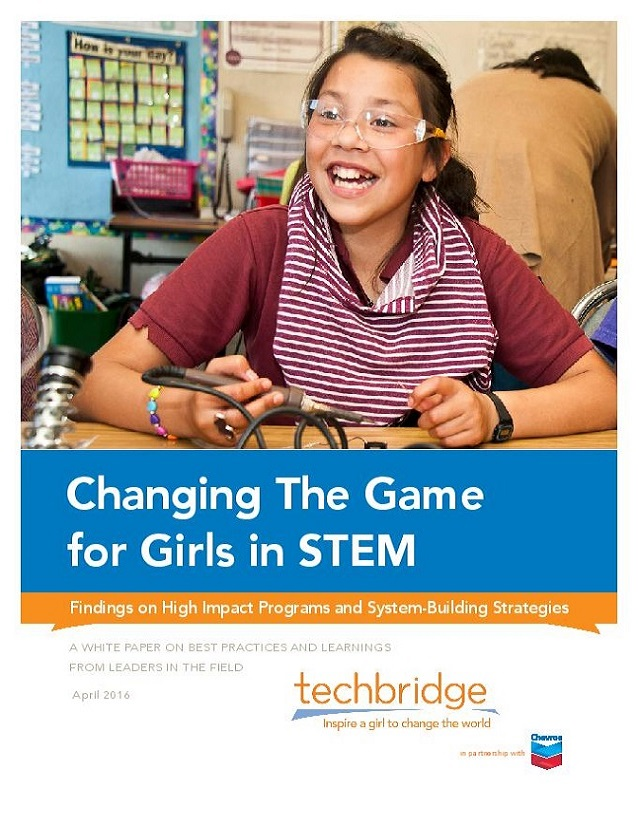 Changing the Game for Girls in STEM Whit