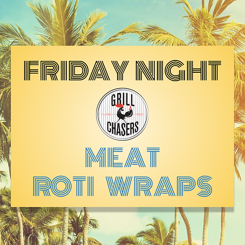 Meat Roti Wraps (Red Ticket)