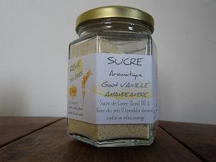 Sucre Reine des prés - Vanille - Nature