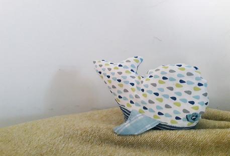 Doudou baleine - Nature d'êtres