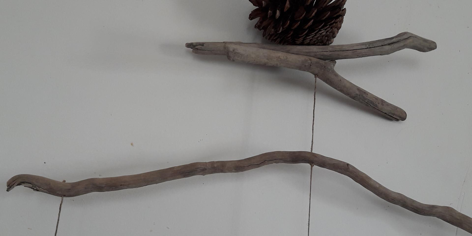Mobile Bois flotté - Nature d'etre