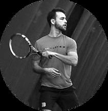 Brandon Larsen at Montclair Tennis Club