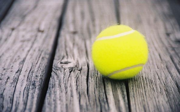 Tennis ball at Montclair Tennis Club
