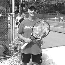 Adrian Zahand at Montclair Tennis Club