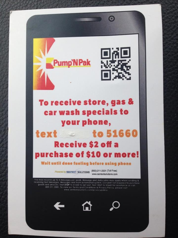 Pump N Pack Gas Station