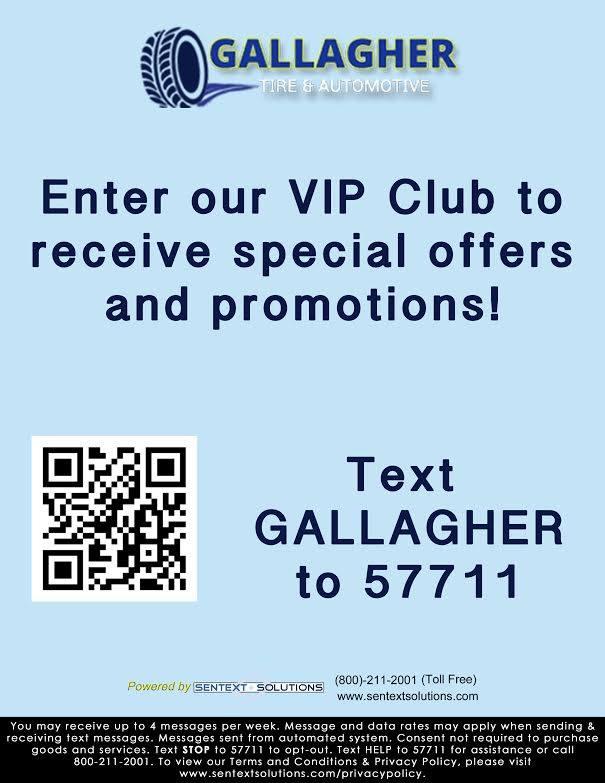 Gallagher Tire automotive