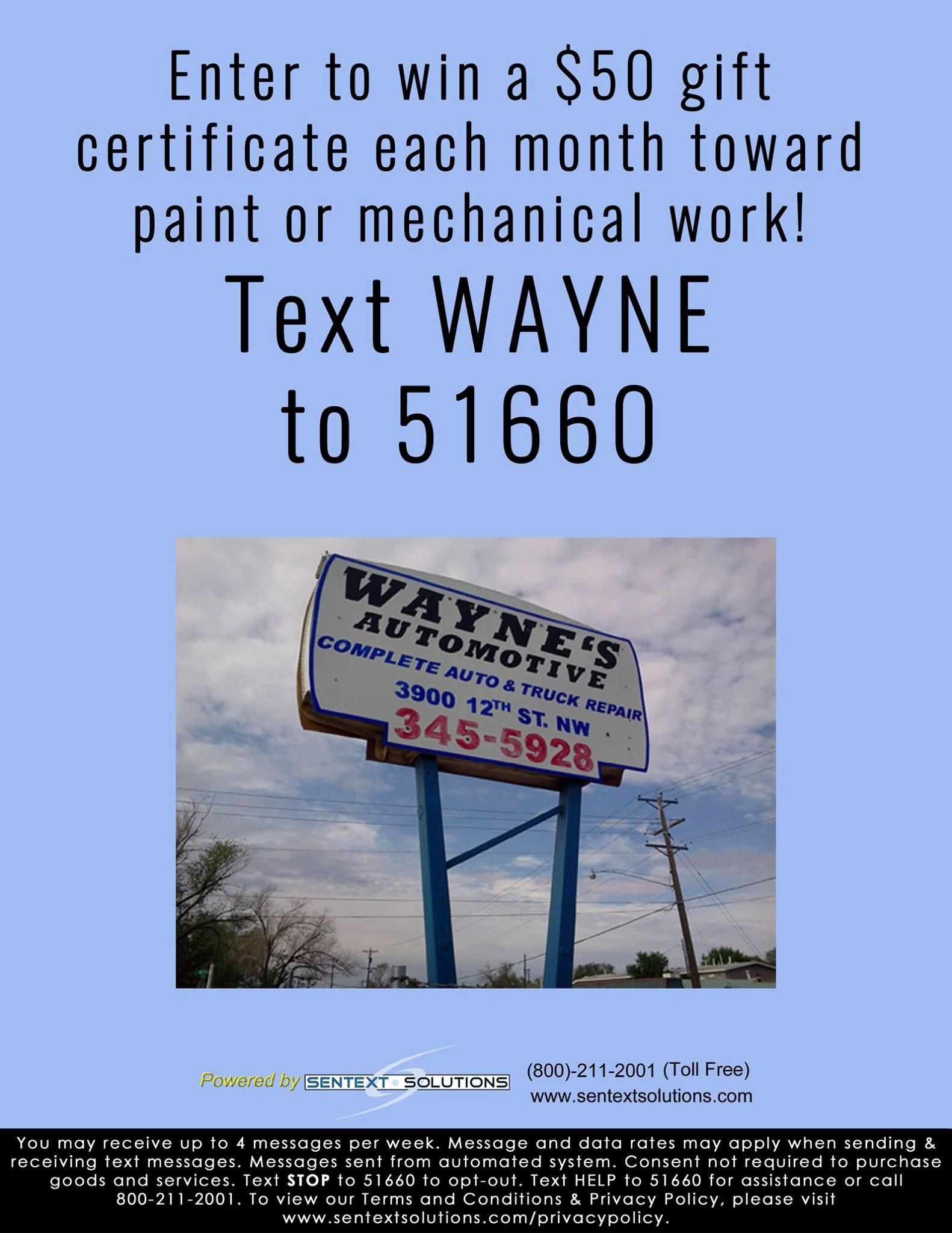 Waynes Automotive Repair