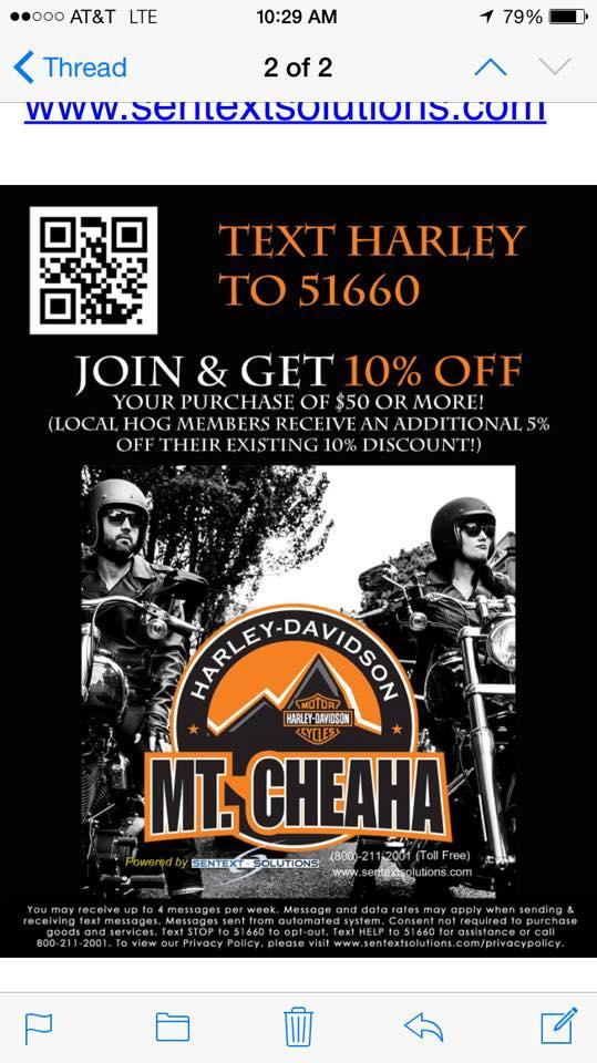 Mt Cheaha harley