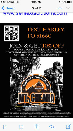 Mt Cheaha harley