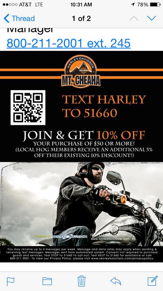 Mt. Cheaha Harley Davidson