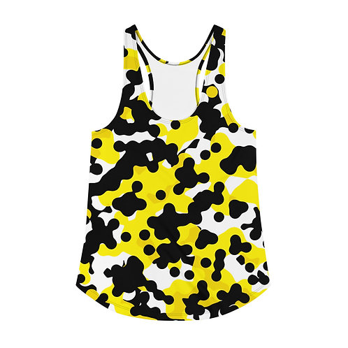 Yellow Frog | Women's Racerback Tank