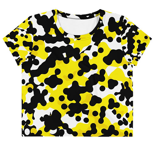 Yellow Frog | Women's  Crop Tee