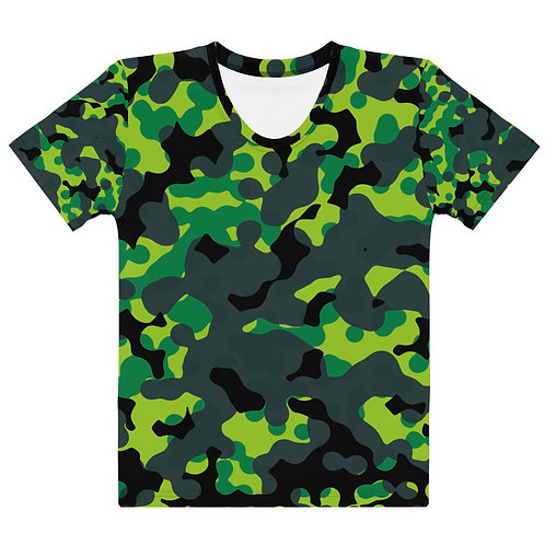 Green Frog | Women's T-shirt