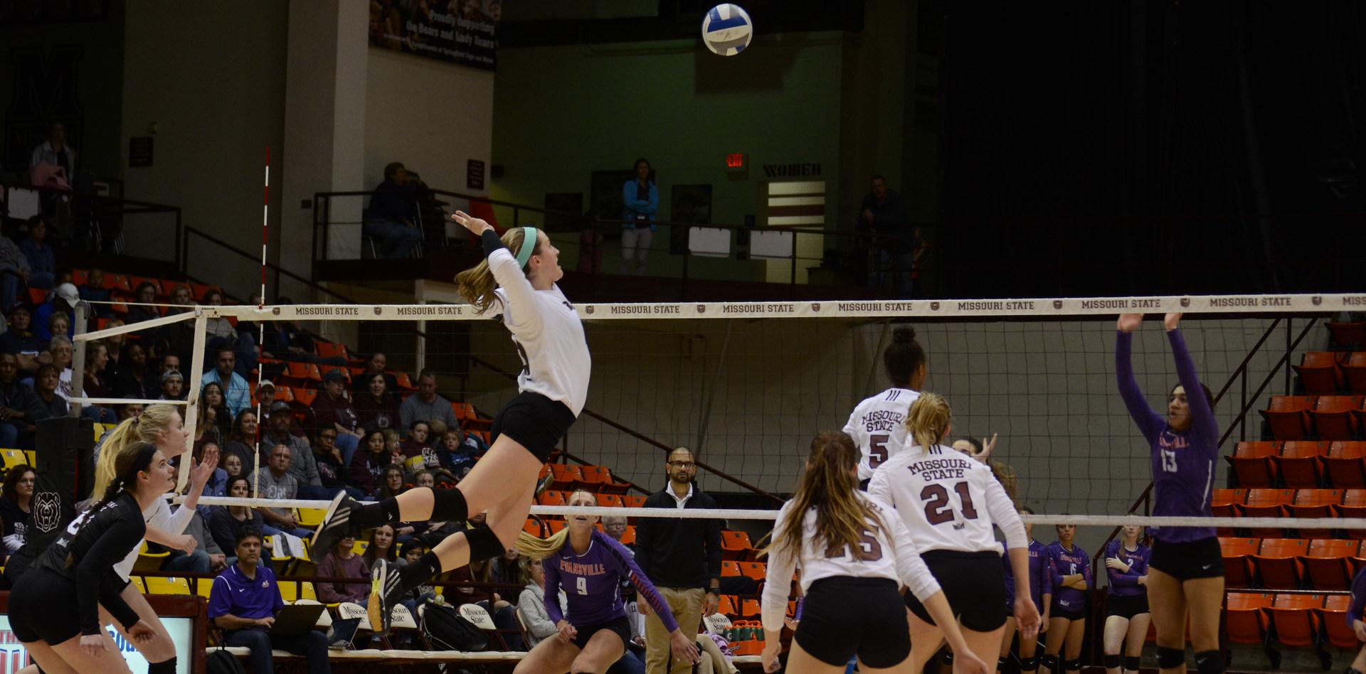 Lily Johnson MSU Volleyball 2015