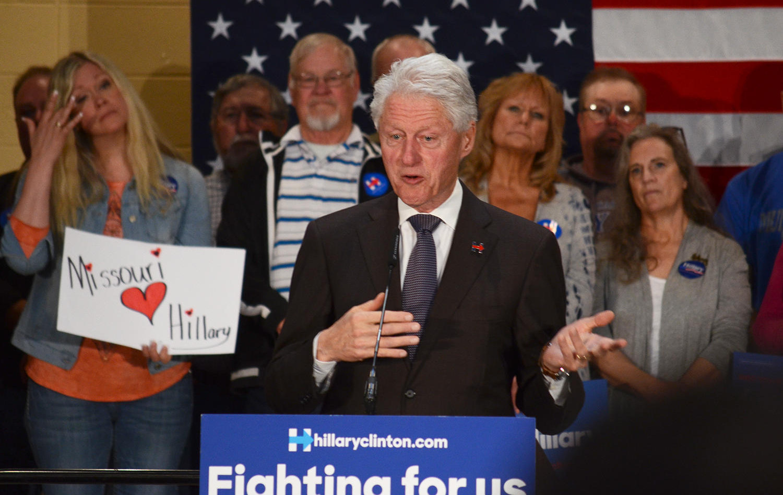 President Bill Clinton - 2016 Campaign for Hillary Clinton
