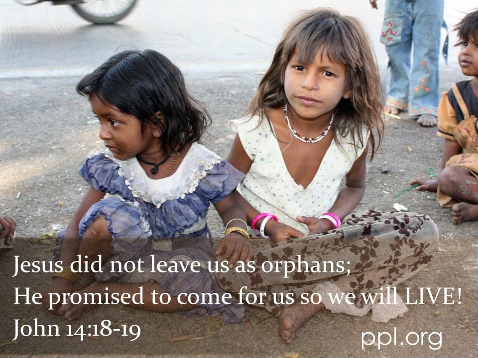 John 14:18-19