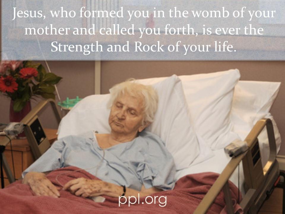 Jesus as Strength & Rock