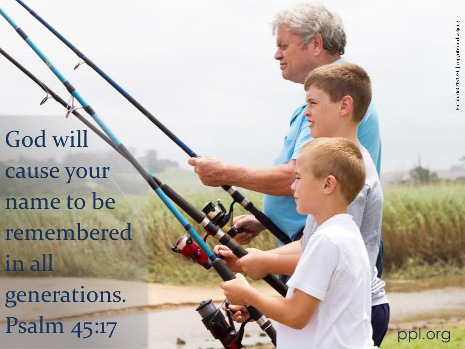 Psalm 45:17