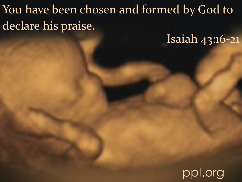 Isaiah 43:16-21