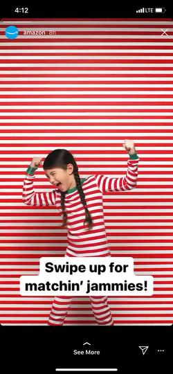 Ruby Durr Amazon Instagram Stripes - Pow