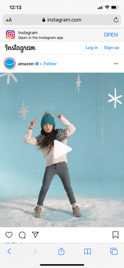 Ruby Durr - Amazon Instagram Holiday Dan