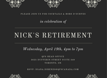 Nick's Retiring and You're Invited to Celebrate With Us!