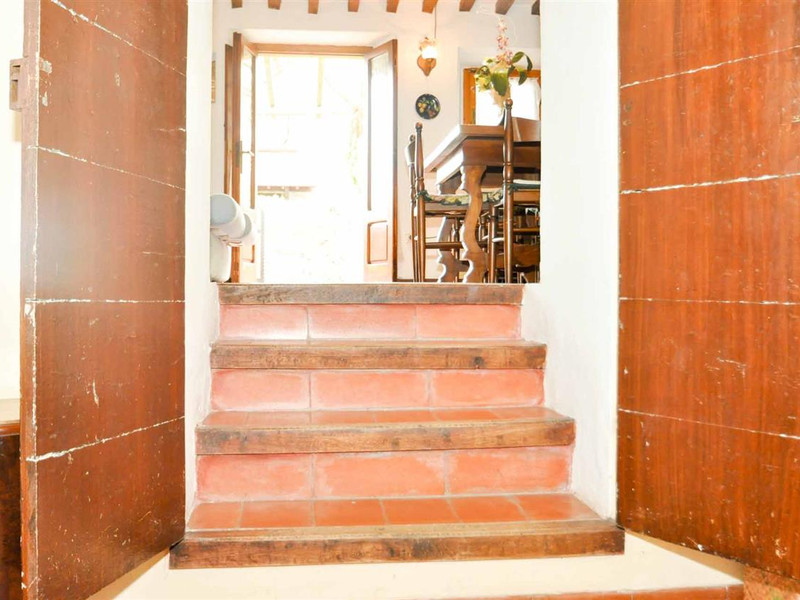scale per accedere alla camera