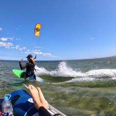 kitesurfing from the dinghy.JPG