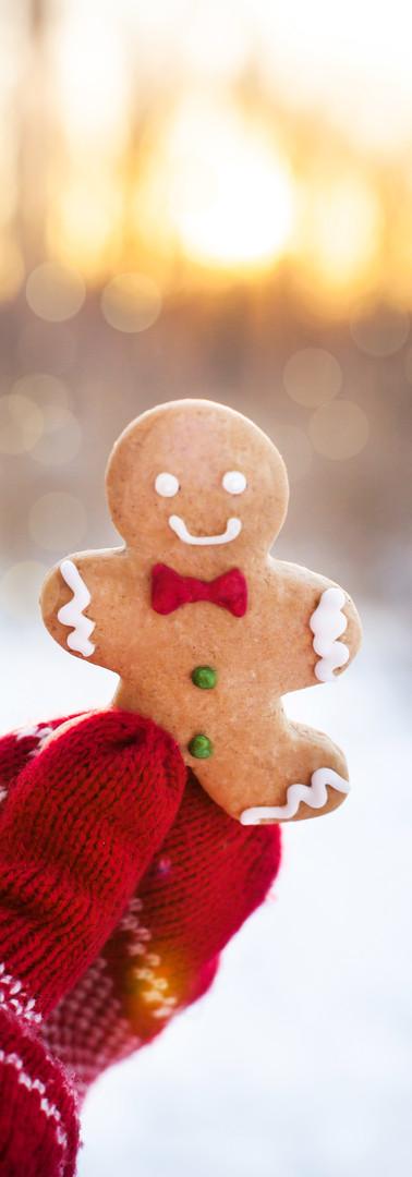 Fresh baked Gingerbread Man